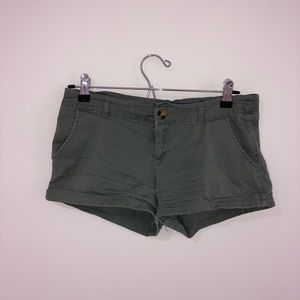 Cotton On Army Green Shorts